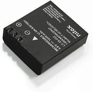 Nilox 13NXAKACBP011 - Batería para cámara (f60, Reloaded+, 4K, s+) Color Negro