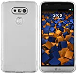 mumbi Funda Compatible con LG G5 Caja del teléfono móvil, Blanco Transparente