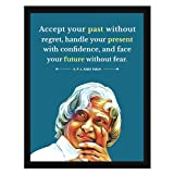 Chaka Chaundh APJ Abdul Kalam Quotes Photo Frame Painting Motivational Poster
