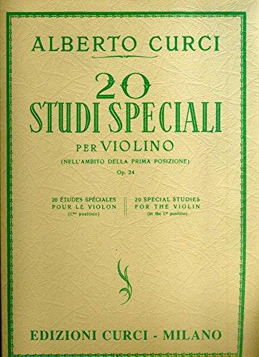 20 studi speciali per violino (nell'ambito della prima posizione) opera 24