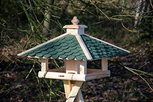 dobar 98540FSCe Klassisches Vogelhaus aus Holz, groß XL, 54 x 54 x 38 cm - 5