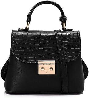 ليله حقيبة للنساء-اسود - حقائب بمقبض علوي