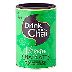 1 x 250g of Drink me Chai Vegan Chai LatteDrink me Chai is the UK's leading alternative hot drink brand made with natural & authentic spices. Each jar of VEGAN CHAI contains 16 servings (96 servings total) and is exclusively available ONLINE. JUST AD...