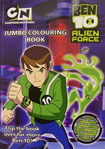 Ben 10 Jumbo Colouring Book