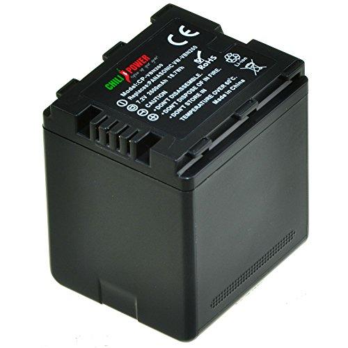ChiliPower VW-VBN260 Akku für Panasonic HC-X800, HC-X900, HC-X900M, HC-X909, HC-X910, HC-X920, HC-X920M, HDC-HS900, HDC-SD800, HDC-SD900, HDC-SD909, HDC-TM900