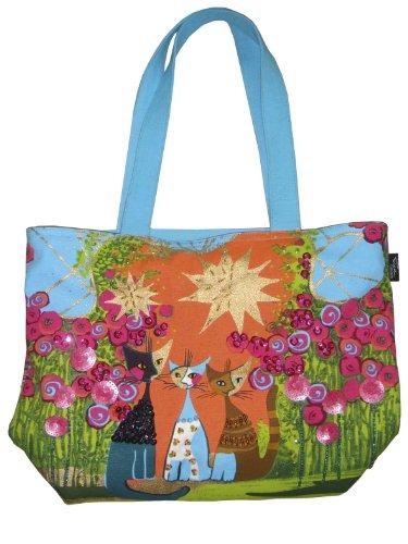 Fridolin Shopper Tasche, Rosina Wachtmeister, mittel 38 x 27,5 x 11 cm