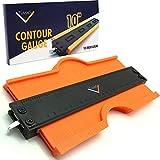 Tvians Contour Gauge (10 Inch Lock) Profile Tool- Adjustable Lock -Precisely Copy Irregular Shape...