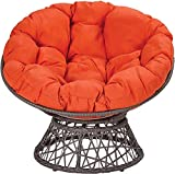 TOPYL Hammock Papasan Chair Cushion,51'X 51'X 6',Cotton Round Solid...