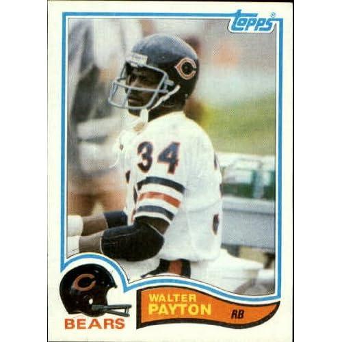 Walter Payton Card Amazoncom
