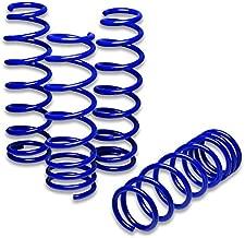 For Civic/Del Sol/Integra Suspension Lowering Springs (Blue) - EG EH EJ1 EJ2 EK9 EJ6 DB6 DB9 DC1 DC2