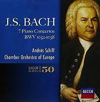 J.S.Bach: Piano Concertos by Andras Schiff (2014-05-14)
