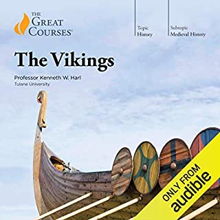 The Vikings                   Written by:                                                                                                                                 Kenneth W. Harl,                                                                                        The Great Courses                               Narrated by:                                                                                                                                 Kenneth W. Harl                      Length: 17 hrs and 59 mins     43 ratings     Overall 4.5