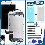 malison - Set de reparación para Apple iPhone 7+ Plus, Pantalla LCD de Retina, Incluye Pantalla táctil, Junta, Protector de Pantalla y Juego de Herramientas
