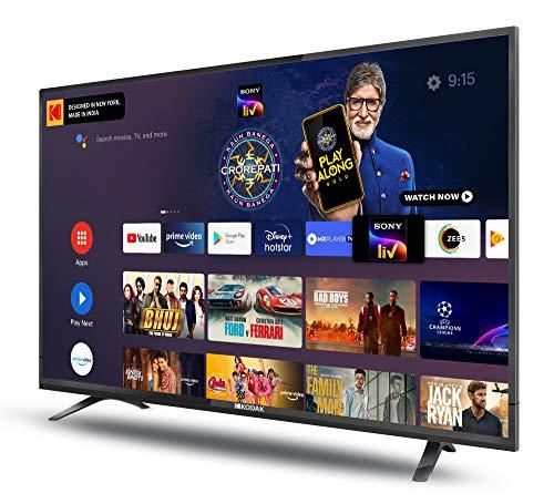 Kodak 102 cm (40 Inches) Full HD Certified Android LED TV 40FHDX7XPRO (Black) (2020 Model) 4