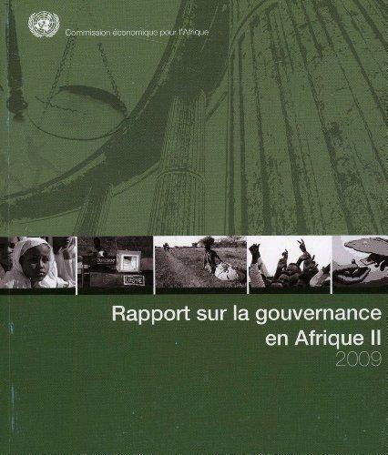 Rapport Sur La Gouvernance En Afrique II 2009 / Report on Governance in Africa II 2009