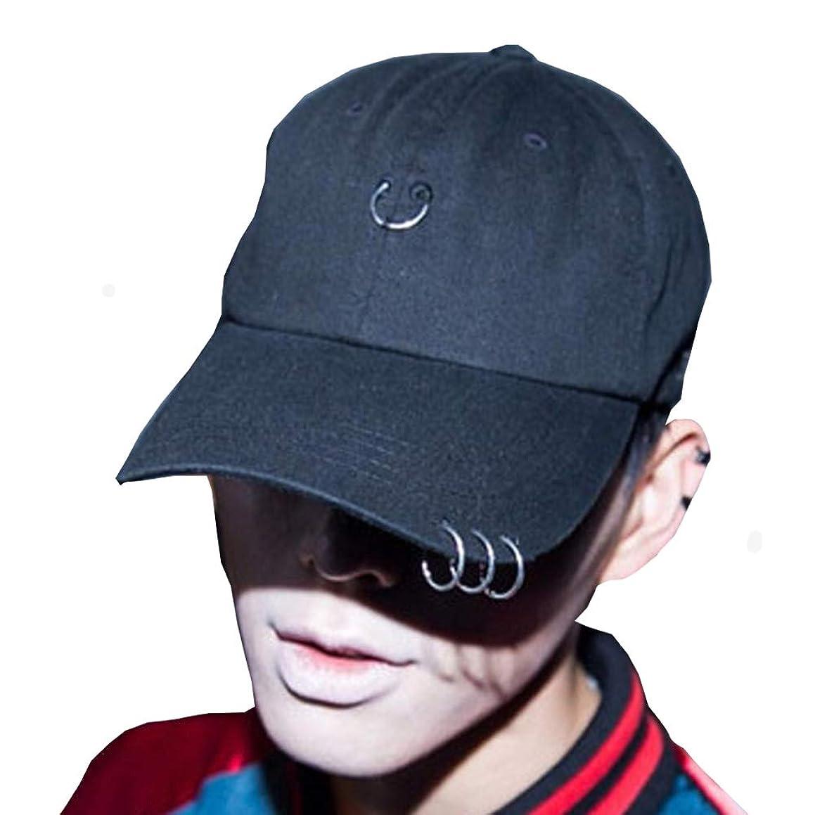 Hats for Men and Women, Hip hop, Hip hop, Full Match, Curve, Iron Hoop Cap Custom