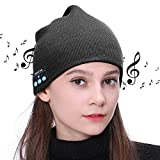 Bluetooth Beanie,Best Gifts for Men/Women,Bluetooth Hat Wireless Headphones Headset Music Hat for Outdoor Sports,Running, Skating, Christmas Tech Birthday Gifts for Women Mom Her Men Teen Boys Girls