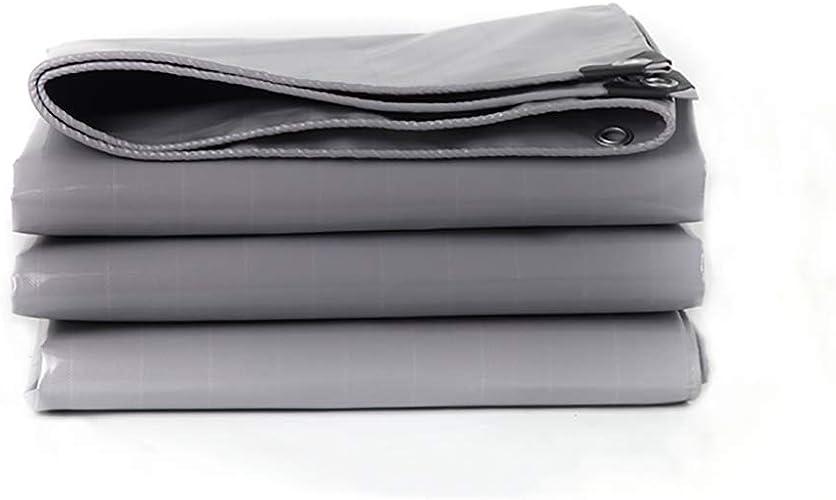 Tarpaulin Grosse bache imperméable épaisse grise, Couverture prougeectrice Polyvalente de bache, Couverture imperméable de Couverture de Feuille de bache