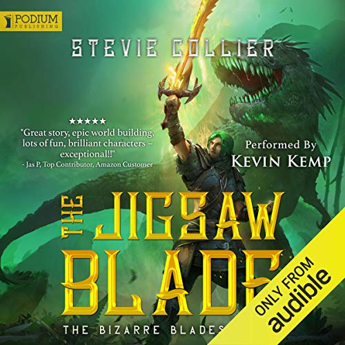 The Jigsaw Blade audiobook cover art
