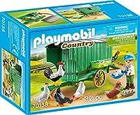 PLAYMOBIL 70138 鶏小屋 農家