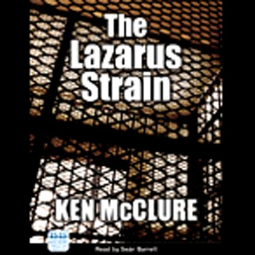 The Lazarus Strain audiobook cover art