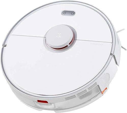 roborock S5 MAX Aspirador Automático Robot y Fregasuelos,Mopa Friega Navegación Inteligente Barre,2000 Pa Muy Potente...