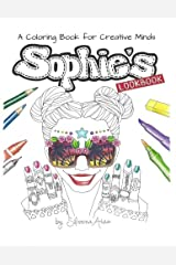 Sophie's Lookbook: A Coloring Book for Creative Minds (Fashion Therapy) Paperback