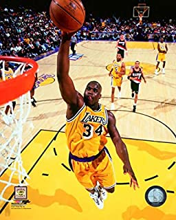 Shaquille O'Neal Los Angeles Lakers Action Photo (Size: 8