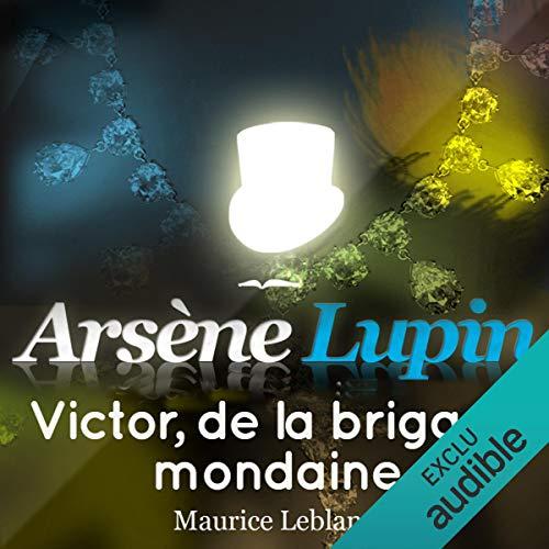Couverture de Victor, de la brigade mondaine (Arsène Lupin 43)