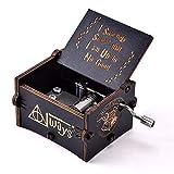 YEUGUI Wooden Music Box Hand Crank Music Box Antique Carved Creative Music Box Wedding Valentine Christmas...