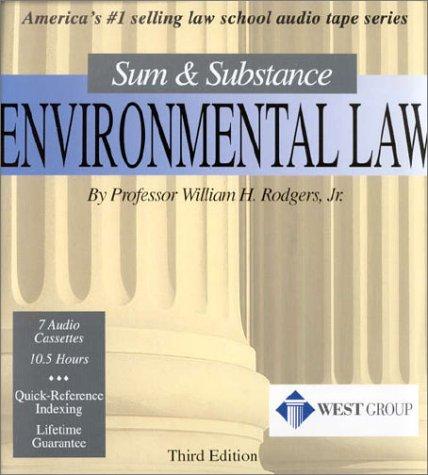 Environmental Law: Sum & Substance