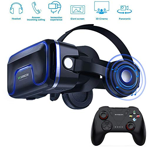 Best Buy! XGVRYG VR Virtual Reality Headset 3D VR Glasses for Games and Virtual Movies Glasses Heads...