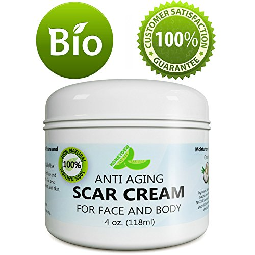 Anti Aging Scar Cream for Face and Body - Scar Removal Cream for Old Scars New Scars &...