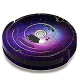 Skin Decal Vinyl Wrap for iRobot Roomba 650 655 Vacuum / Galaxy 3