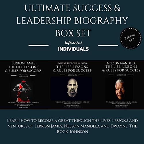『Ultimate Success & Leadership Biography Box Set』のカバーアート