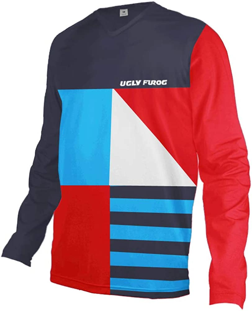 Uglyfrog Men's Bicycle Clothing,Short Import Long Breathable Very popular! M Sleeve