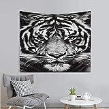 votgl Tapiz Animal Wolf Tapzi Tiger Hojas de Pared para decoraci¨n del hogar Impresi¨n de Arte de Pared 150 * 180cm