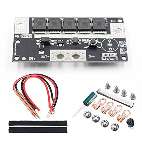 VISLONE Punktschweißgeräte, Punktschweißmaschine 12V DIY Tragbare Punktschweißmaschine Batteriespeicher Leiterplatte Schweißgerät Punktschweißgeräte für 18650 26650