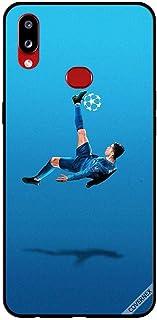 جراب لهاتف Samsung Galaxy A10S مطبوع عليه Ronaldo Flying Kick