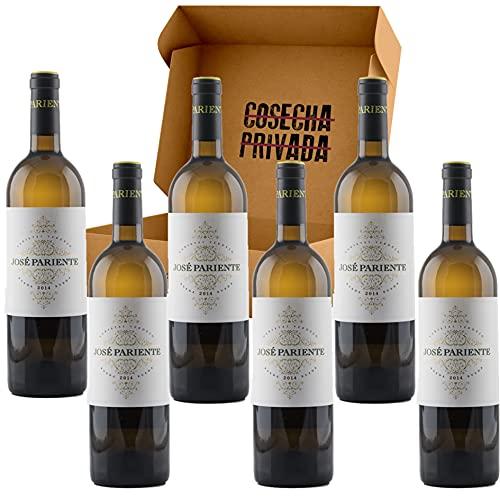 José Pariente Verdejo - Envío Gratis 24H - Estucche 6 Botellas - DO Rueda - Vino Regalo - Seleccionado y Enviado por Cosecha Privada