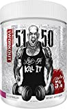 Rich Piana 5% Nutrition 5150 High Stim Pre-Workout Powder | Extreme Energy, Focus, Pumps & Endurance | 400 mg Caffeine, Citrulline, Beta Alanine, N-Acetyl L-Tyrosine | 30 Srvgs (Wildberry)