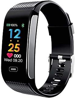GXFNS Reloj Inteligente Reloj De Fitness Relojes con Pulsómetro Monitor De Ritmo Cardíaco Banda Inteligente Pulsera Inteligente Reloj Despertador Vibratorio
