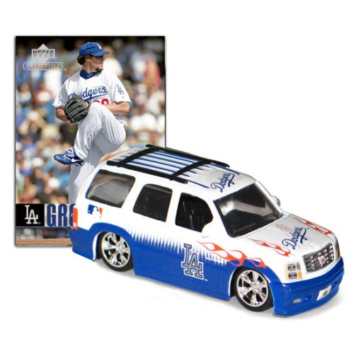 Los Angeles Dodgers MLB Cadillac Escalade with Eric Gagne Trading Card