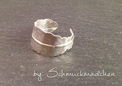 Ring Feder Silber