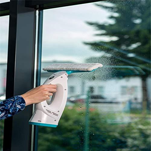 Lopp aspiradora inalámbrica, de mano potente de alta potencia pequeña recargable inalámbrica ultra silenciosa ventana aspirador aspirador adecuado para ventanas, espejos, azulejos