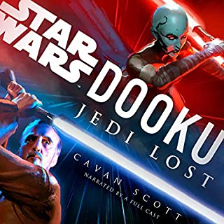 Dooku: Jedi Lost (Star Wars)                   By:                                                                                                                                 Cavan Scott                               Narrated by:                                                                                                                                 Orlagh Cassidy,                                                                                        Euan Morton,                                                                                        Marc Thompson,                   and others                 Length: 6 hrs and 21 mins     1,244 ratings     Overall 4.4