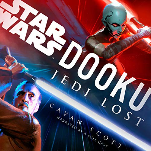 Dooku: Jedi Lost (Star Wars)                   By:                                                                                                                                 Cavan Scott                               Narrated by:                                                                                                                                 Orlagh Cassidy,                                                                                        Euan Morton,                                                                                        Marc Thompson,                   and others                 Length: 6 hrs and 21 mins     1,303 ratings     Overall 4.4