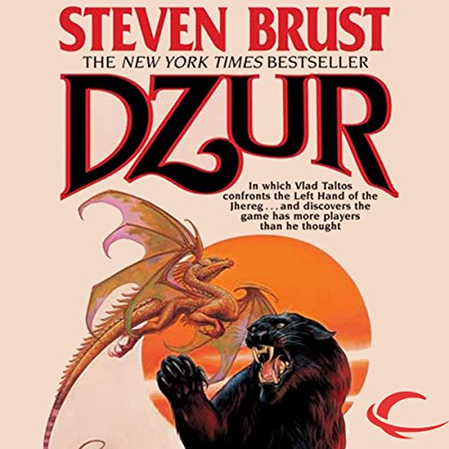 Dzur audiobook cover art