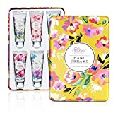 Hand Cream Gift Set - Hand Lotion Set for Women, Travel Size Hand Cream Enriched with Shea Butter and Glycerin to Moisturize Dry Hands, Gifts for Women, Birthday. 6 x 1.0 oz/30ml