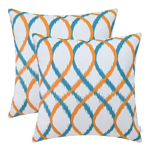 Fine Teal Orange Throw Amazon Com Theyellowbook Wood Chair Design Ideas Theyellowbookinfo